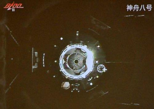 """外媒评""""天神拥吻"""" 称中国飞船对接技术有突破"""