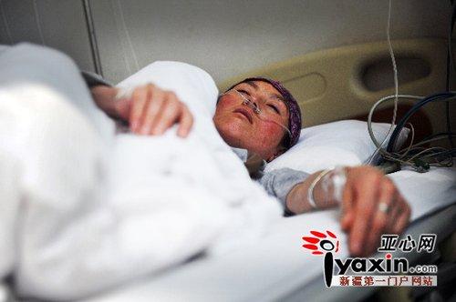 打工女子怀孕7个月仅38公斤 瘦剩一把骨头(图)