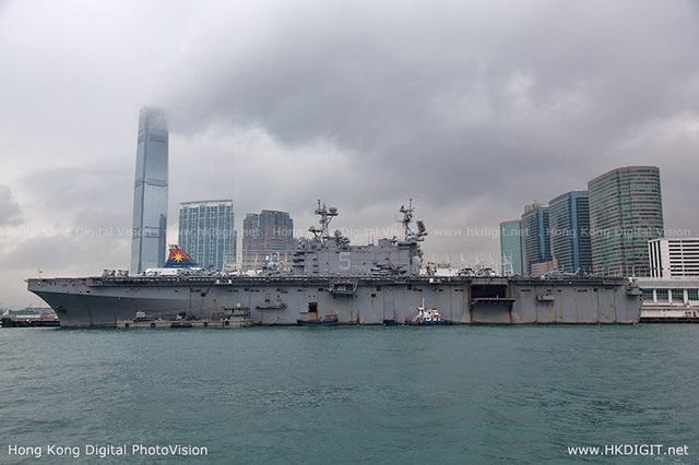 斯坦尼斯航母南海挑衅被拒访香港 美军不用惊讶