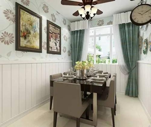 一挂窗帘,就美了整个房间!