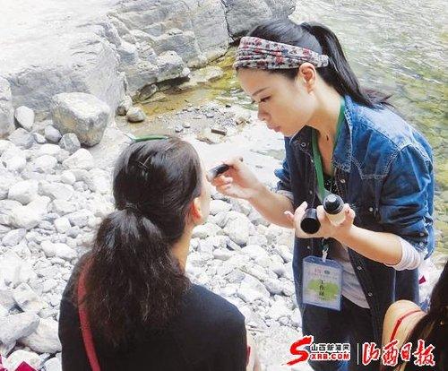 太原白莹担任特邀首席化妆造型师(图)