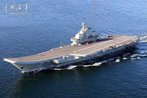 美媒称中国辽宁舰为二手小航母极易遭导弹攻击