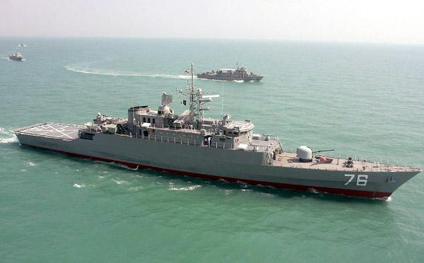 地区局势不稳定之际 伊朗向阿曼湾派遣小型舰队