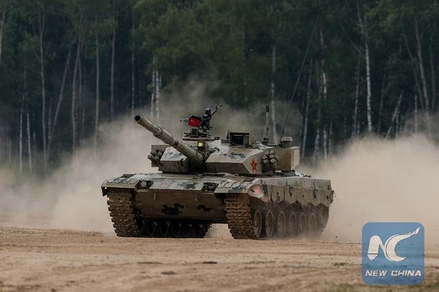 俄军夺得坦克两项比赛决赛冠军 中国名列第三