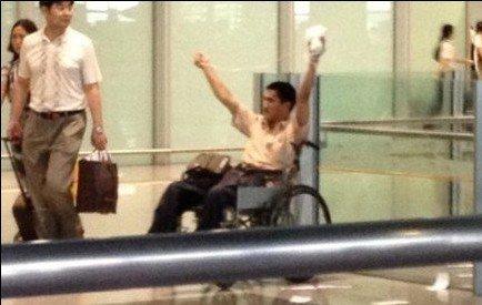 残疾男子北京机场引爆爆炸装置受伤 曾上访多年