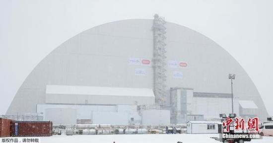 """乌克兰为切尔诺贝利罩上""""金钟罩"""" 封印核反应堆"""