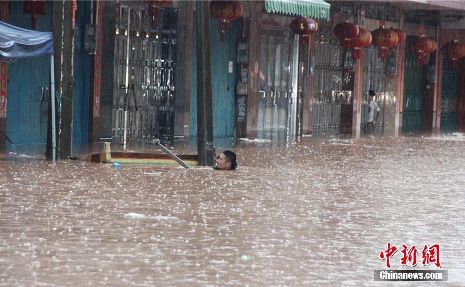 连日暴雨袭击广西 边境城市成为汪洋2015.7.29 - fpdlgswmx - fpdlgswmx的博客
