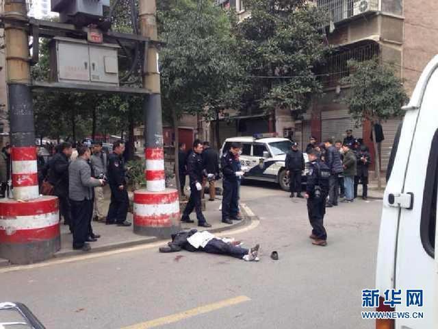 长沙街头发生不法分子砍杀市民事件 有人员伤亡