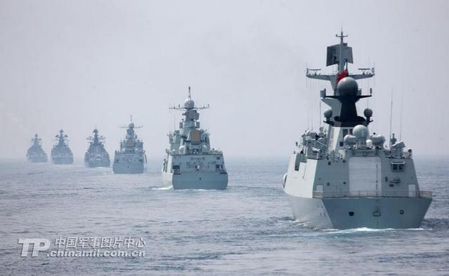 中国舰队将抵达俄罗斯进行中俄联合海军军演