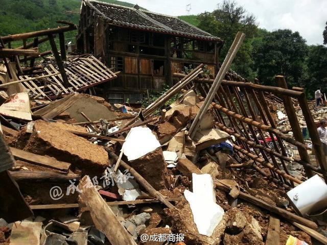 震中一建于1949年木樓未倒 樓內2名熟睡小孩幸存
