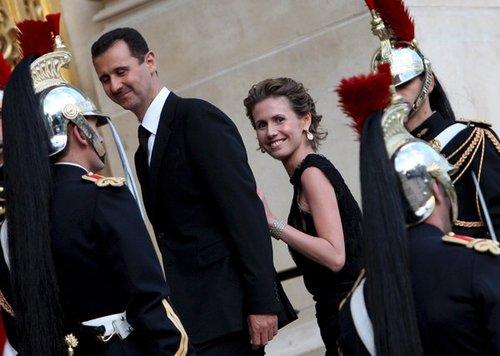 外媒:叙利亚总统家人欲出逃遭武装人员拦截