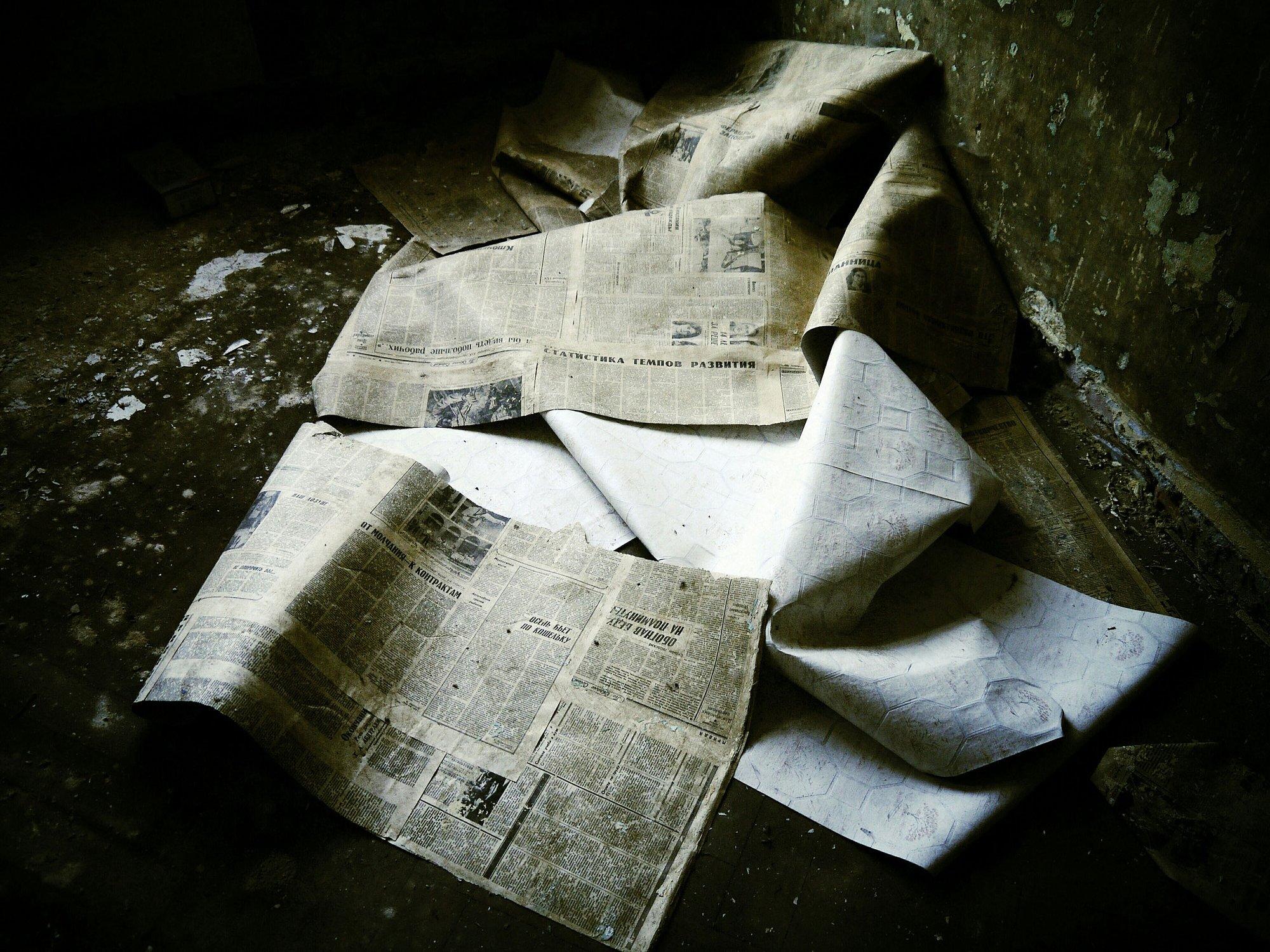 传统媒体的衰落。图片/视觉中国