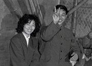 1982年,在深圳工棚举办的婚礼