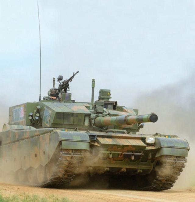 中美最先进主战坦克数量比1:15