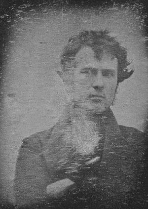 1839年历史上第一张自拍照曝光