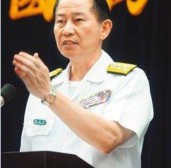 台湾海军司令董翔龙上将。(资料照片/刘宗龙摄)
