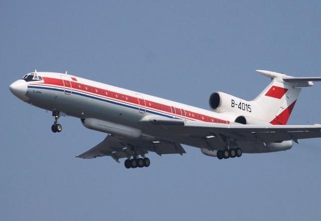中国空军图154侦察机进入越南领空参与搜救