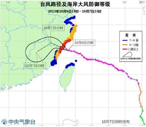 """强台风""""菲特""""登陆福建福鼎 沿海风雨大作"""