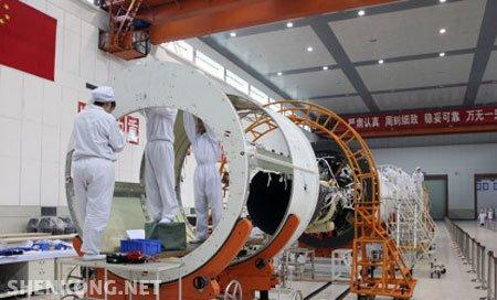 中国运载火箭史上最长的助推器试验件完成总装