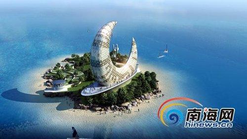 文昌龙楼镇:彰显航天特色 打造航天风情小镇