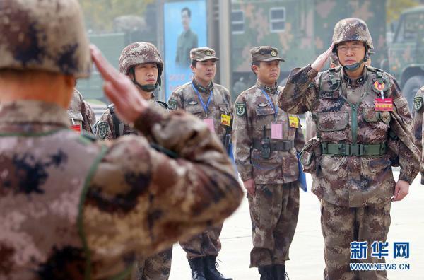 38集团军军长王印芳下达出动命令。