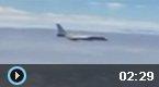 """实拍空军战机""""绕岛巡航"""""""