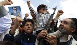 哪些人在保卫卡扎菲