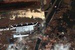 日本地震前后卫星图对比