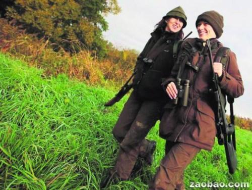 奥地利万名女性当上猎人 枪法比男性还要准(图)