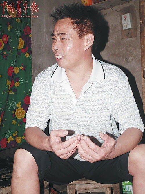 9月7日中午,中国青年报记者见到了重获自由的郭新魁。他始终没有承认犯罪。杨桐摄