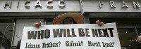 华尔街金融风暴席卷全球