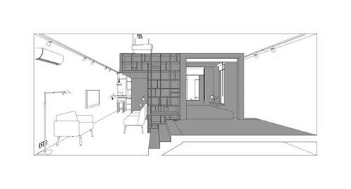 长方形自建房屋设计图展示图片