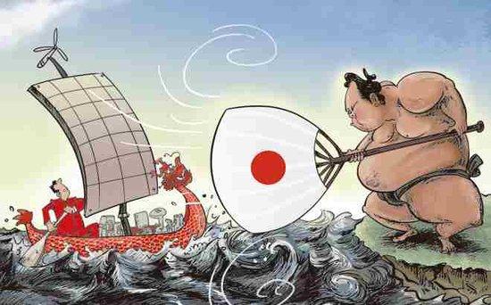 新能源开闸,中国商人强攻日本