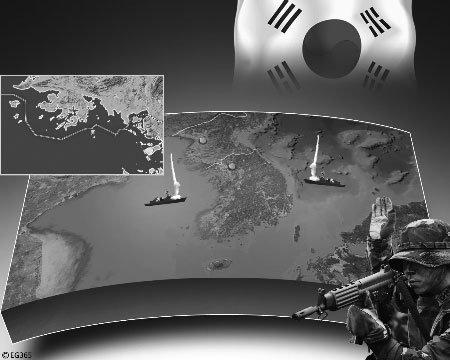 韩开始第二轮实弹射击 朝称美日韩合作诱发核战