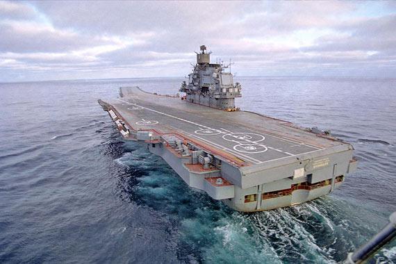 赶超美尼米兹级航母?俄拟建排量11万吨新航母
