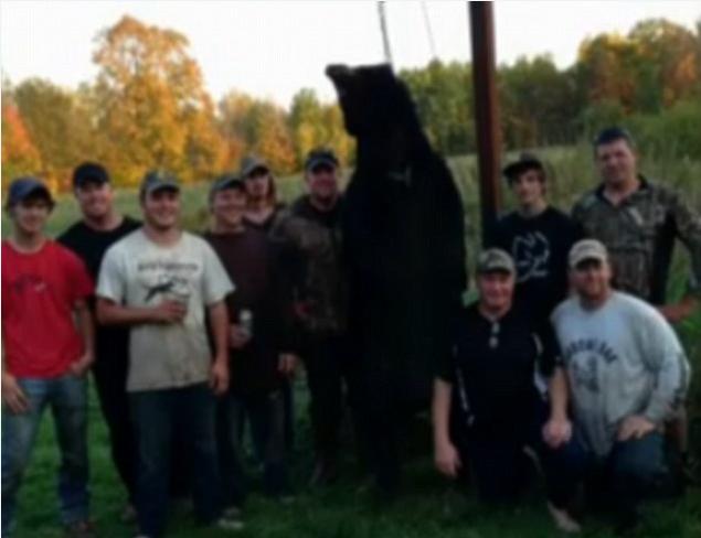 男子射伤黑熊后突遭反击 惊慌中用猎刀将其制服