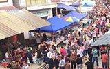 小山村涌进3万人避暑 场面爆过大景区