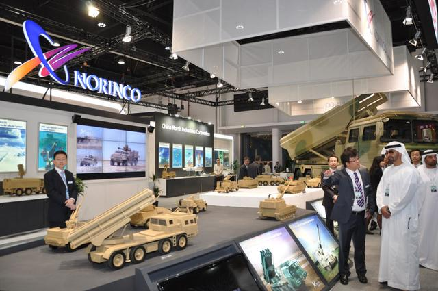 中东最大防务展开幕 中国携先进装备参展