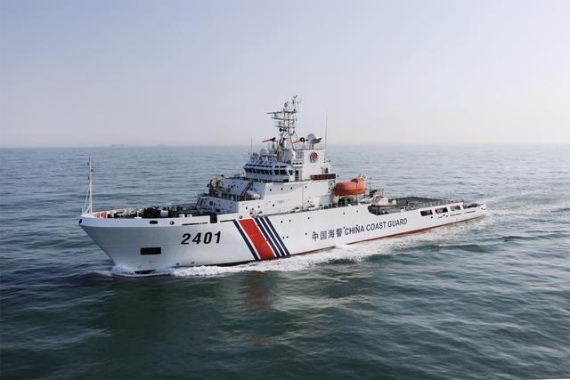 中国海警舰船编队今日在钓鱼岛领海内巡航
