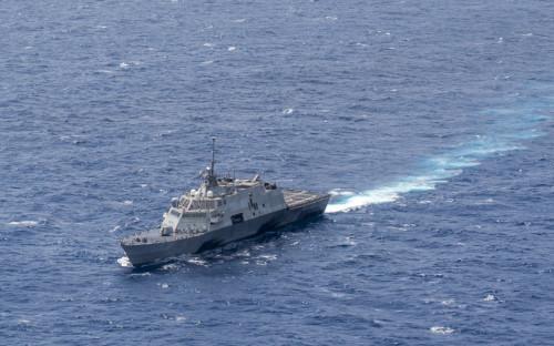 国防部批美司令乘军机巡航南海:唯恐天下不乱
