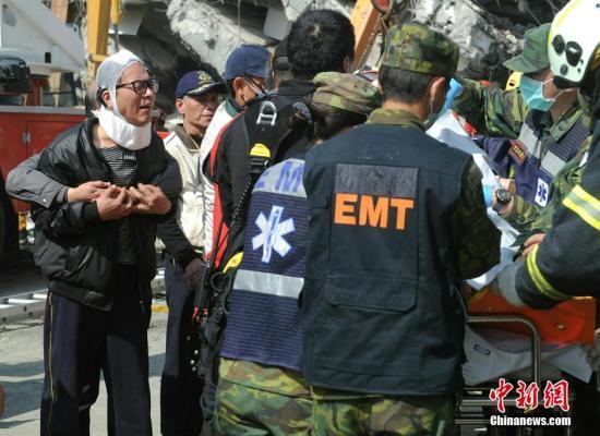 台南地震:遇难人数升至37人 仍有百余人失联