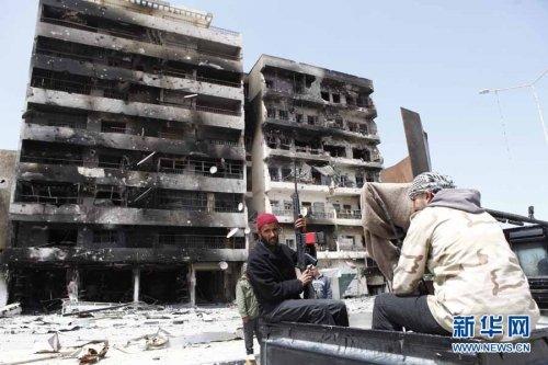 中国企业在利比亚工程受损200亿美元(图)