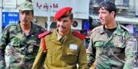 大马士革街头的政府军