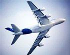 """""""空中巨无霸""""空客A380飞行表演"""
