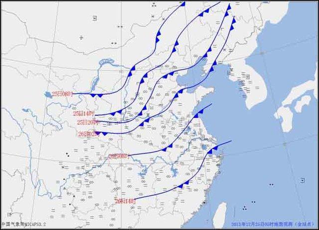 气象局:冷空气即将达到华北 自北向南霾将消散