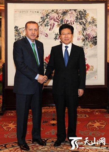 张春贤:望土耳其继续阻止东突从事反华活动
