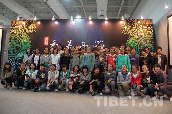 """上海西藏班学生走进""""和美""""现场"""