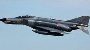 土耳其称战机在国际空域被叙击落 将事件交北约