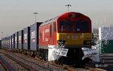 首列中英贸易直通车经过18天抵达伦敦