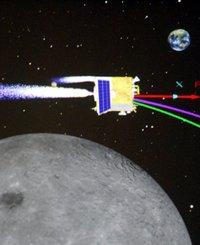 嫦娥二号在多个发动机作用下调整姿态